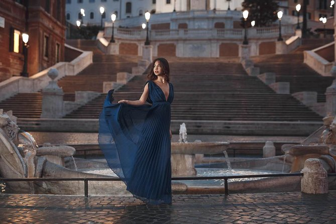 Night or early morning photoshoot in Rome