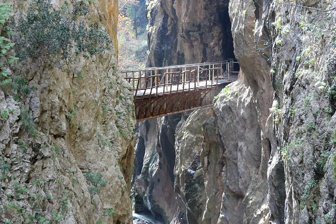 Crossing the Gorge of Vouraikos -Private food, wine, culture tour in Achaia