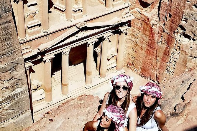 Petra & Wadi Rum Day Trip from Amman or Airport or Madaba