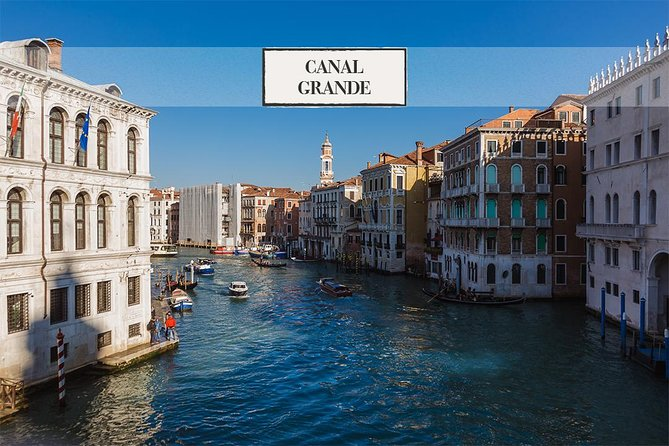 Grand Canal Gondola Ride and Lunch