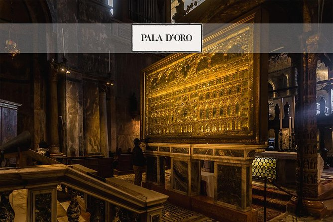 The Treasures of Venice: Golden Basilica, Grand Canal tour and Panoramic tour