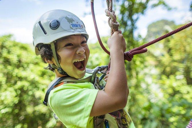 Krabi Half-Day Zipline Adventure Experience