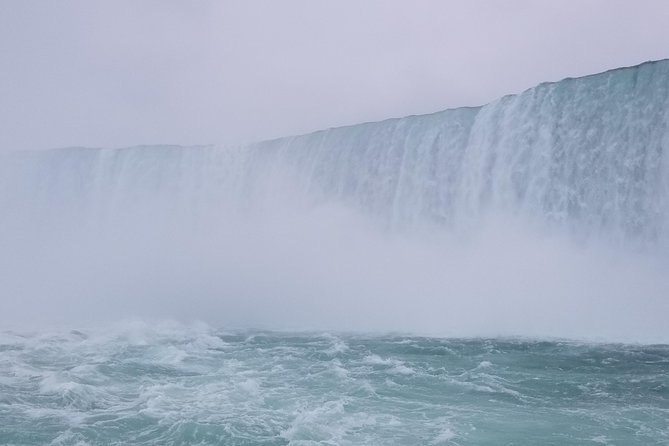 So close to the Horseshoe Falls you can taste it!!