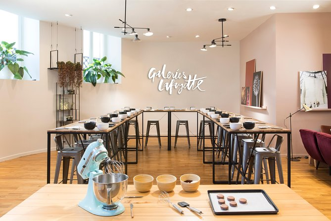 Macaron Bakery Class at Galeries Lafayette Paris