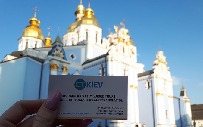 The most comprehensive 3-4 days package tour around Kyiv