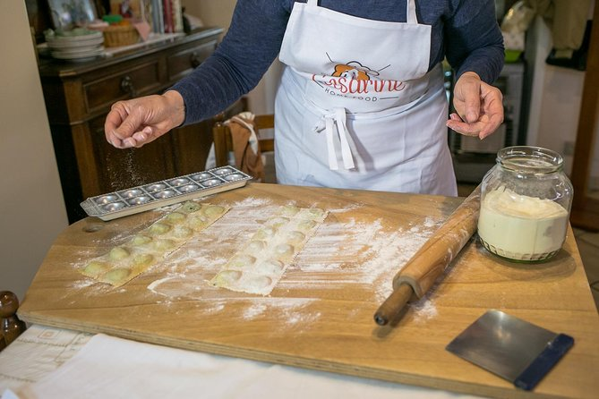 Private Pasta & Tiramisu Class at a Cesarina's home with tasting in Ancona