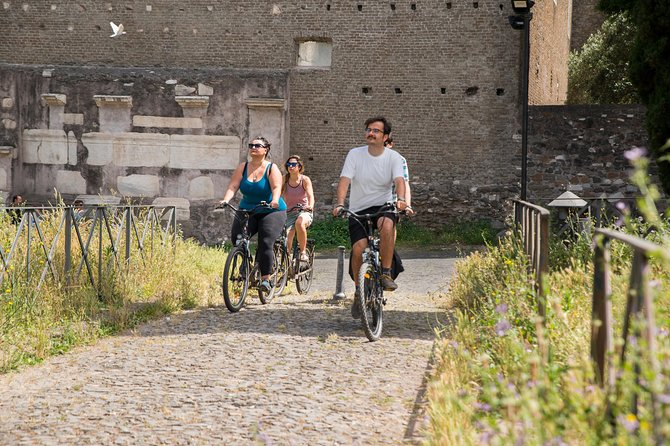 Private 3-hour Bike Tour: Appian Way in Rome