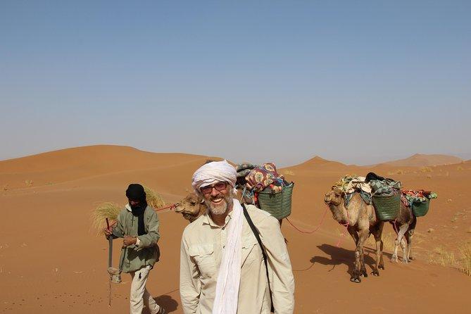Morocco desert trek 3 days departure M'hamid