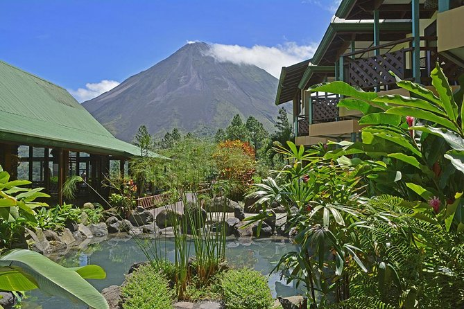 Costa Rica Volcano, forests and beach