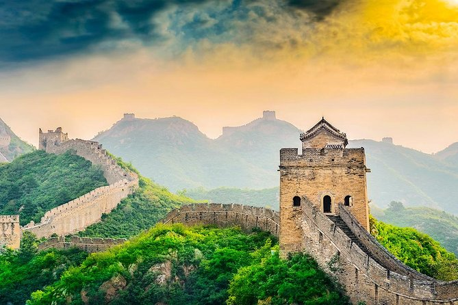 1-Day Badaling Great Wall Helicopter Tour with Sacred Way & Bird's Nest