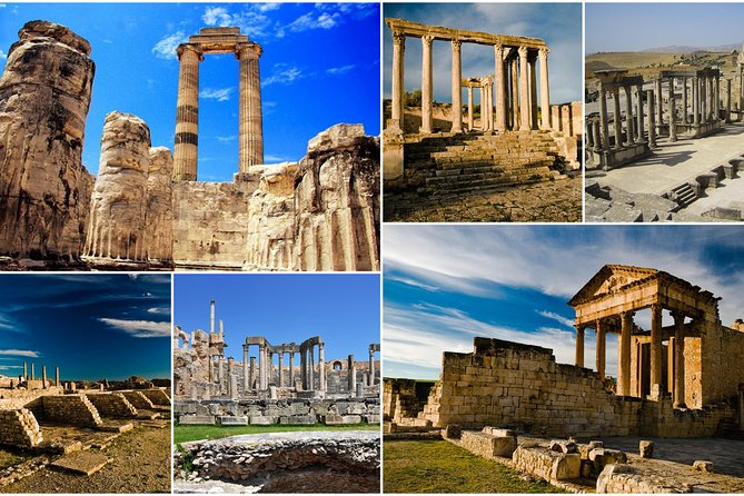 Dougga and Bulla Regia Small-Group Tour from Tunis w/ Lunch