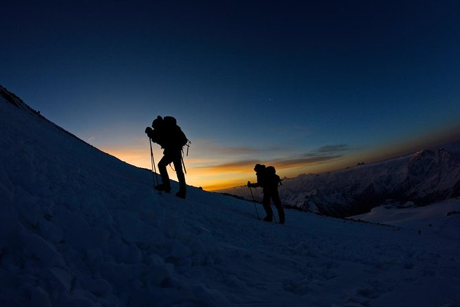 Elbrus South route, 7 days