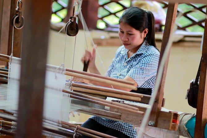 Half Day Private Angkor Silk Farm