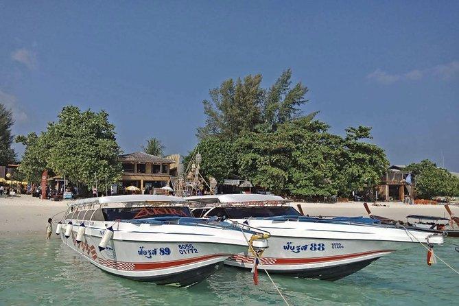 Koh Mook to Koh Lipe by Satun Pakbara Speed Boat