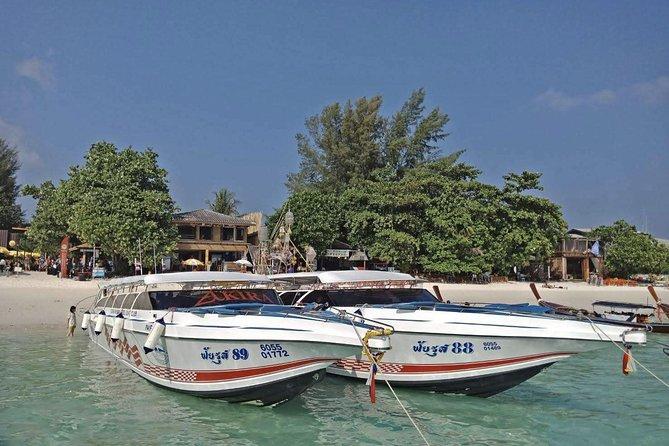Koh Ngai to Koh Kradan by Satun Pakbara Speed Boat