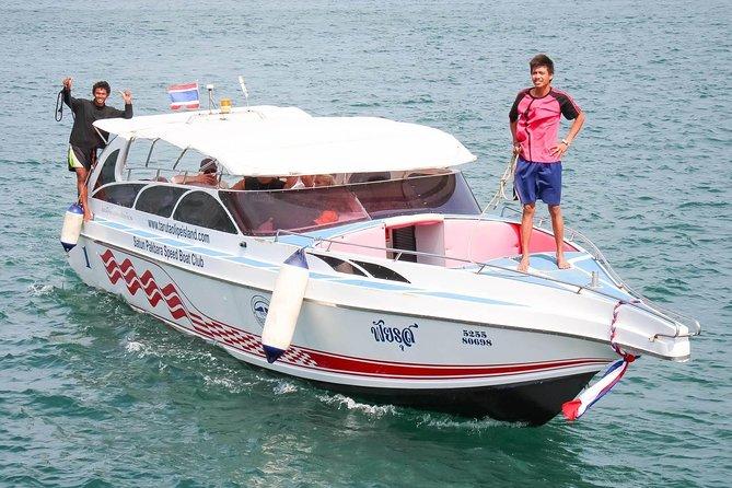 Koh Phi Phi to Koh Bulone by Satun Pakbara Speed Boat