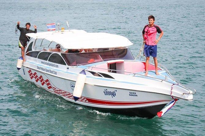 Koh Phi Phi to Koh Kradan by Satun Pakbara Speed Boat