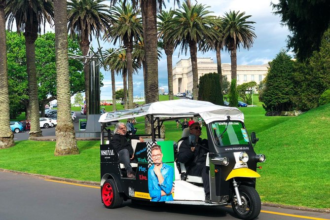Private Guided Tour by Electric Tuk Tuk in Auckland