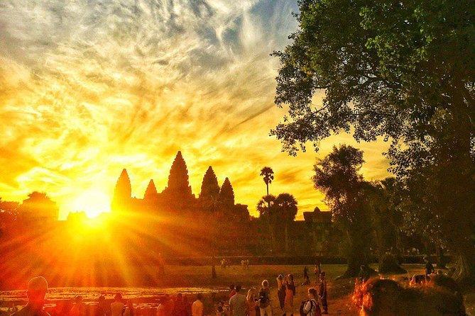 Angkor Wat Sunrise Shared Tour