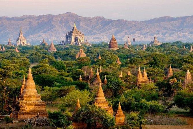 Bagan Temples Tour by Private car and Tour guide.
