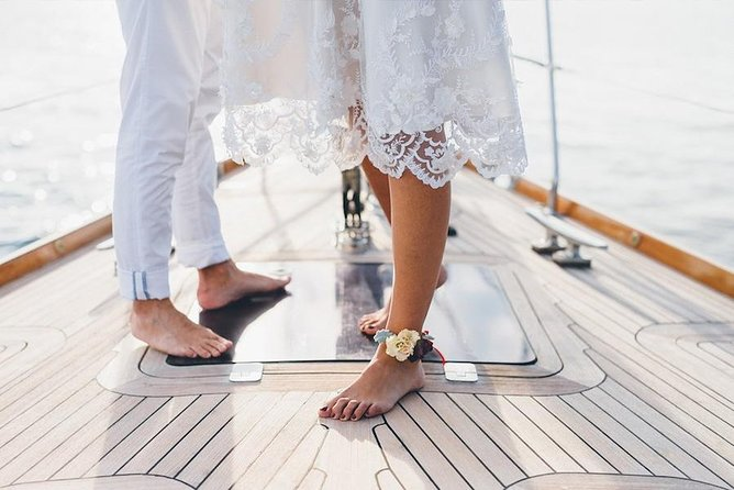 Proposal and wedding in positano