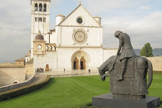 Assisi and St. Francis Private Tour with Driver from your Accommodation in Rome