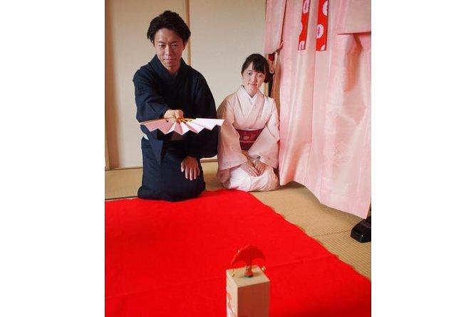 Tosenkyo Fan-tossing Game and Kimono Experience at Daisho-in Temple of Miyajima