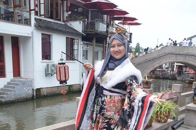 Zhujiajiao Ancient Town & Night Luxury Cruise in Shanghai