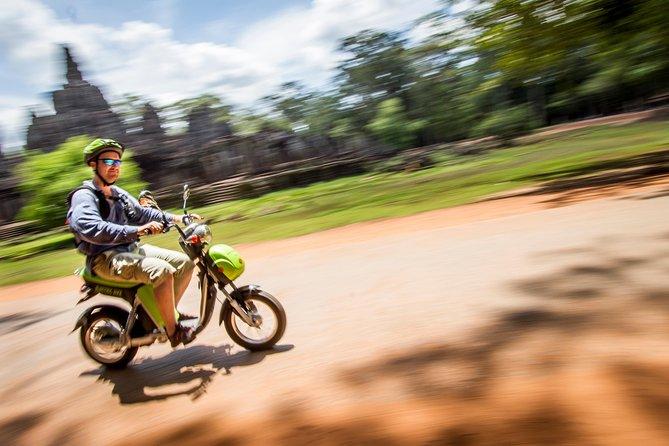 Venture through Angkor on an e-bike