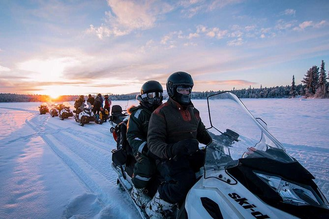 Snowmobile Arctic Adventure