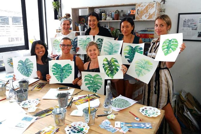 Tropical Painting Class