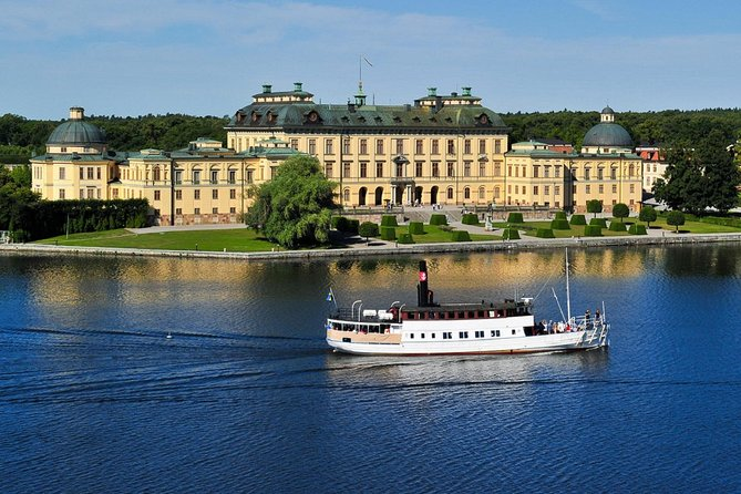 Drottningholm palace visit with PRIVATE guide by VIP car Stockholm