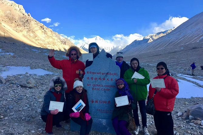 7-Night Lhasa to Everest Base Camp Classic Tour