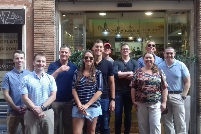 Roman Street Food Walking Tour in Rome