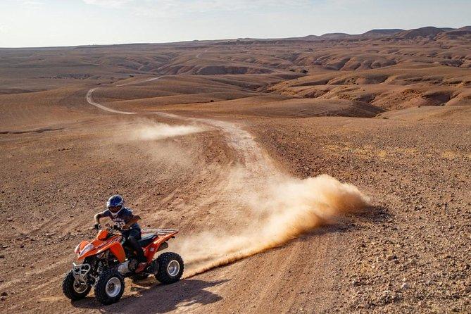 ATV Quad biking in Agafay desert Marrakech
