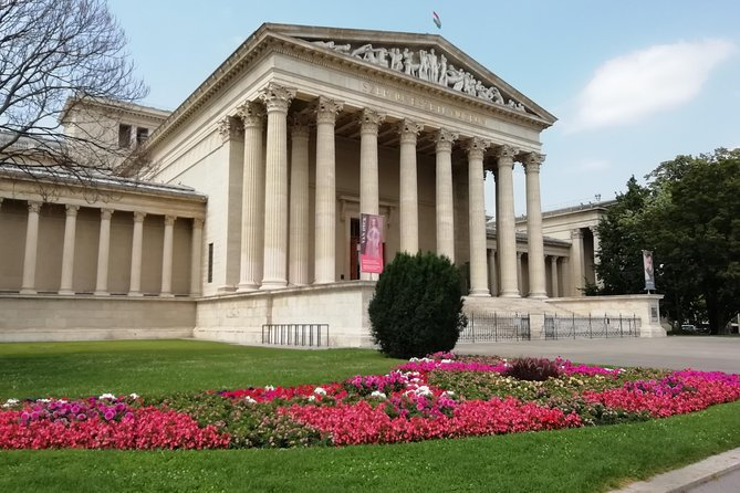 Masterpieces of the Museum of Fine Arts of Hungary and visit of the City Park
