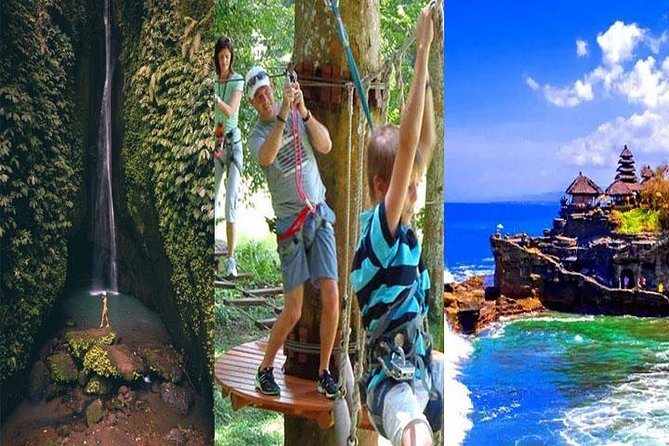 Best Bali Things To Do With Waterfall Tree Top and Tanah Lot Temple