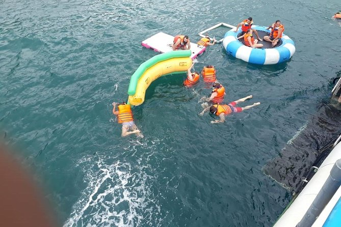 Package snorkeling ,donut ride and water slide