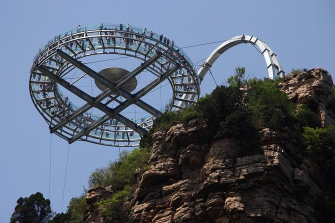 Private Shilingxia Area and UFO Glass Platform Day Tour with Lunch
