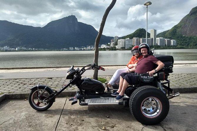 Trike Tour Rio - Route # 1 (2 hours) - Copacabana + Lagoa + Leblon + Ipanema