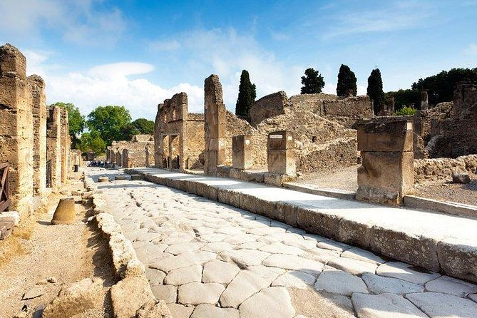 Mysteries of Pompeii, Mount Vesuvius, Winery and Lunch - Shore Excursion Naples