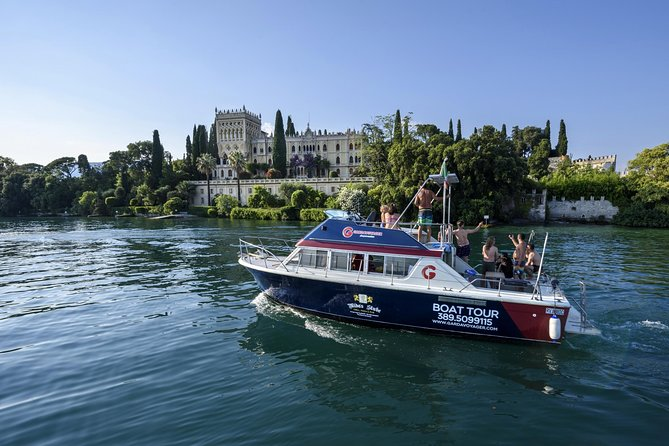 South lake boat tour with lunch on board - Lazise / Bardolino / Garda