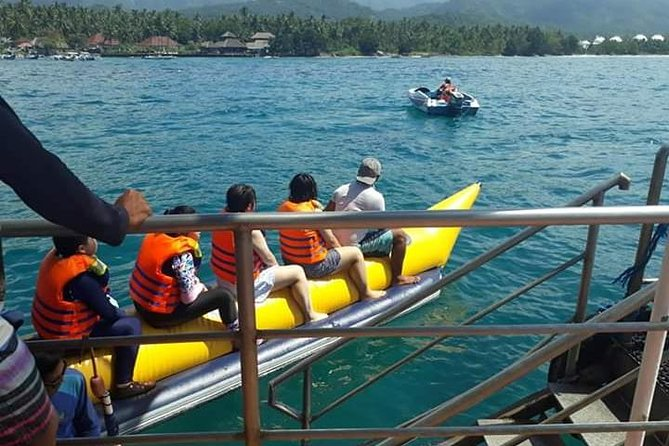 Package donut ride and Banana boat