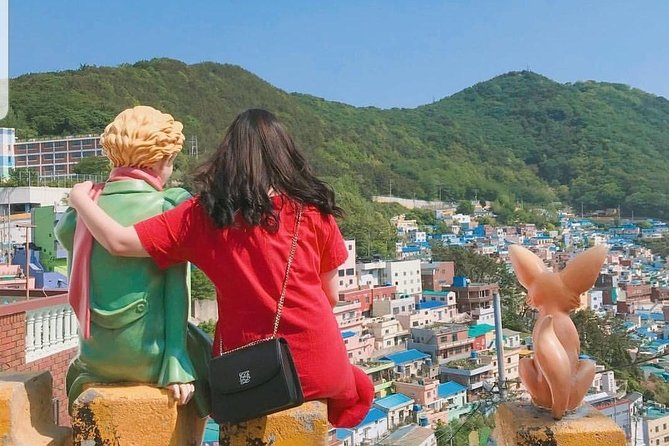 The best place to take a picture of Gamcheon Culture Village