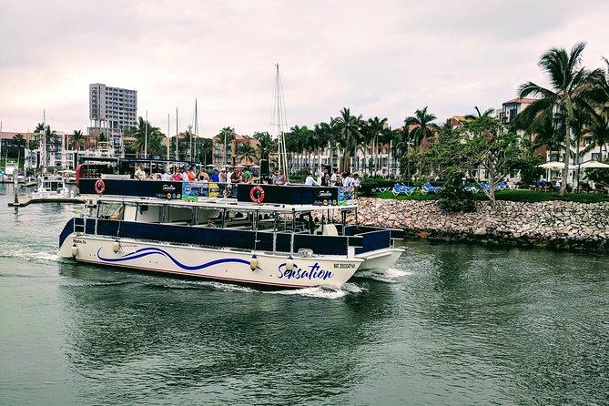 Sensation Bash Party All Inclusive Boat Cruise through Mazatlan Bay