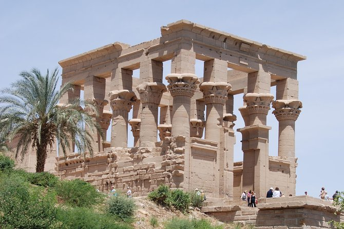 Aswan tour ( the temple of philae - high dam )