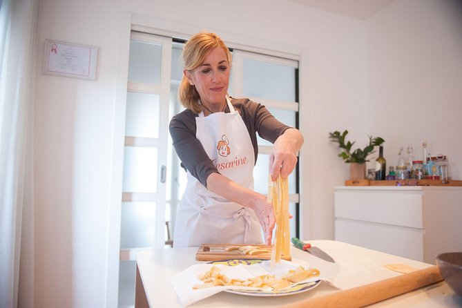Private Pasta & Tiramisu Class at a Cesarina's home with tasting in Manfredonia