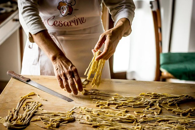 Private Pasta & Tiramisu Class at a Cesarina's home with tasting in Pescara