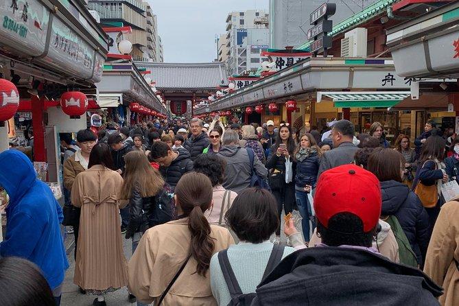 Tokyo Walking tour 6 hours (Tsukuji Fish Market, Asakusa, Ginza, Imperial Palace