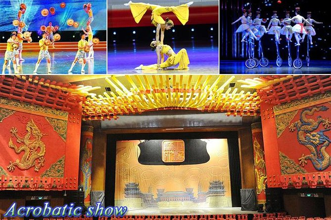 Chaoyang Acrobatic & No.1 Peking duck Banquet Quanjude All-Inclusive